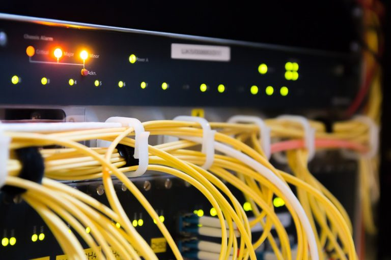 sieć teleinformatyczna w inteligentnym budynku